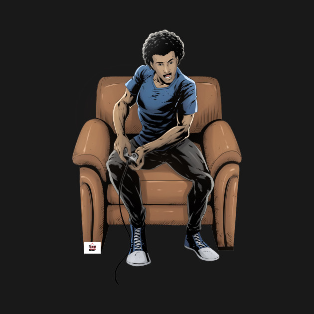 TeePublic: Black Gamer