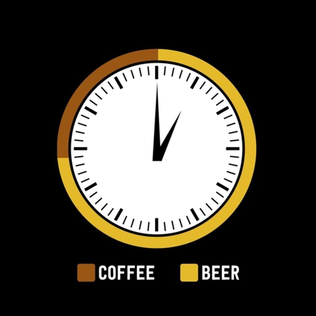 BustedTees: Coffee Or Beer Time
