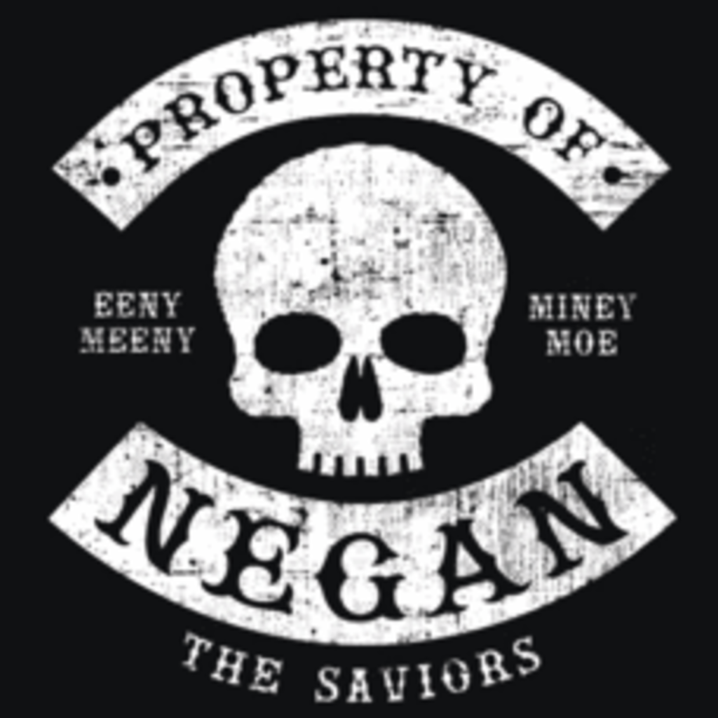 Textual Tees: Property of Negan
