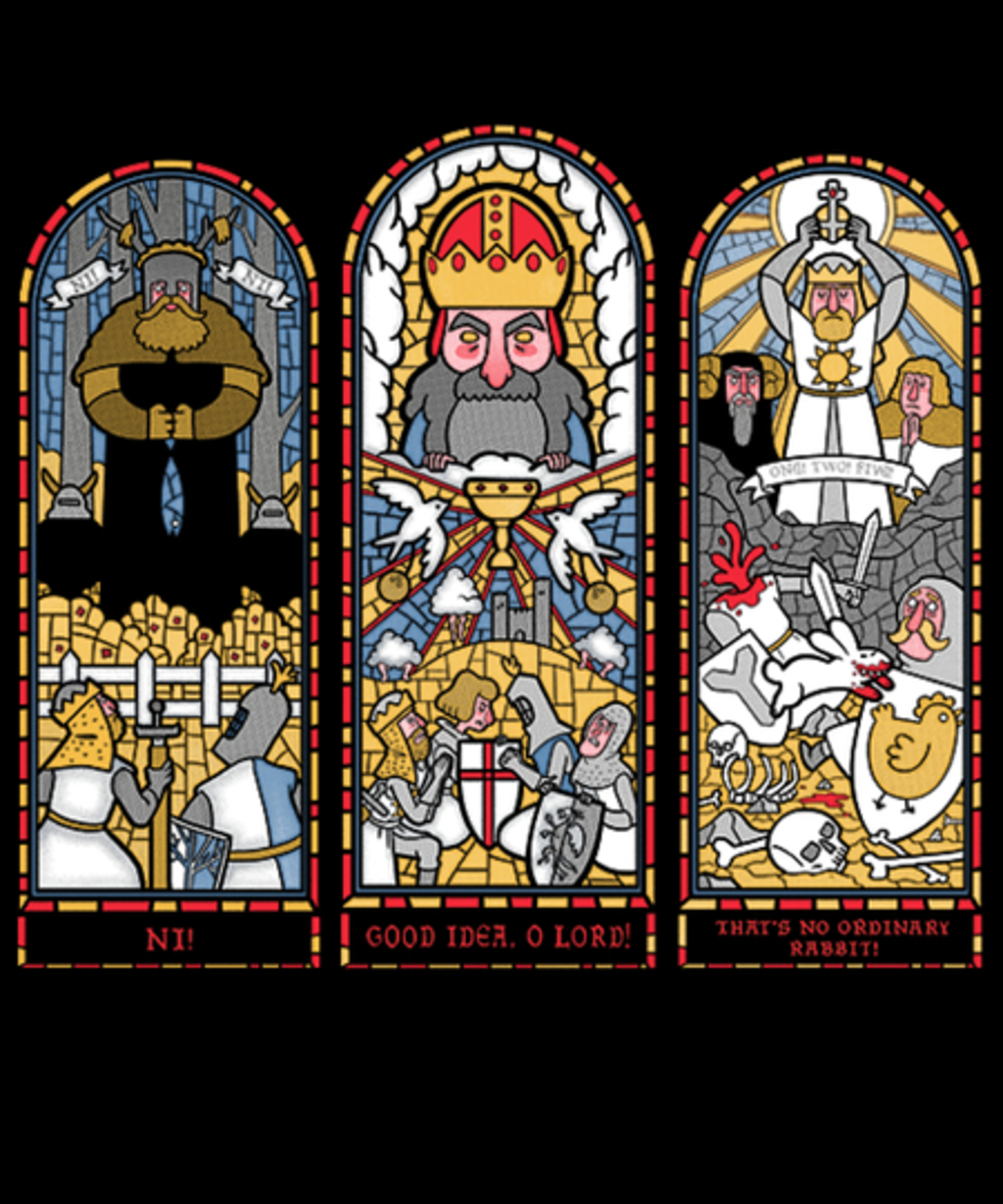 Qwertee: Triptych of Aaarrrggghhh