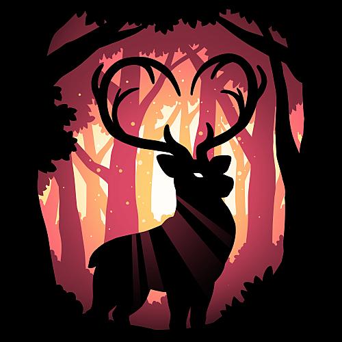 TeeTurtle: Follow Your Heart (Deer)