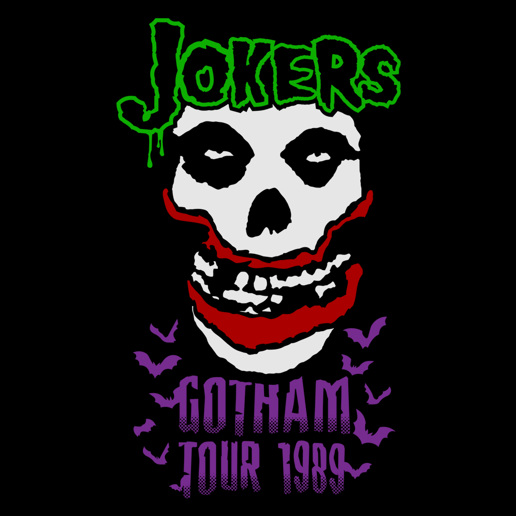 Pop-Up Tee: Jokers 1989
