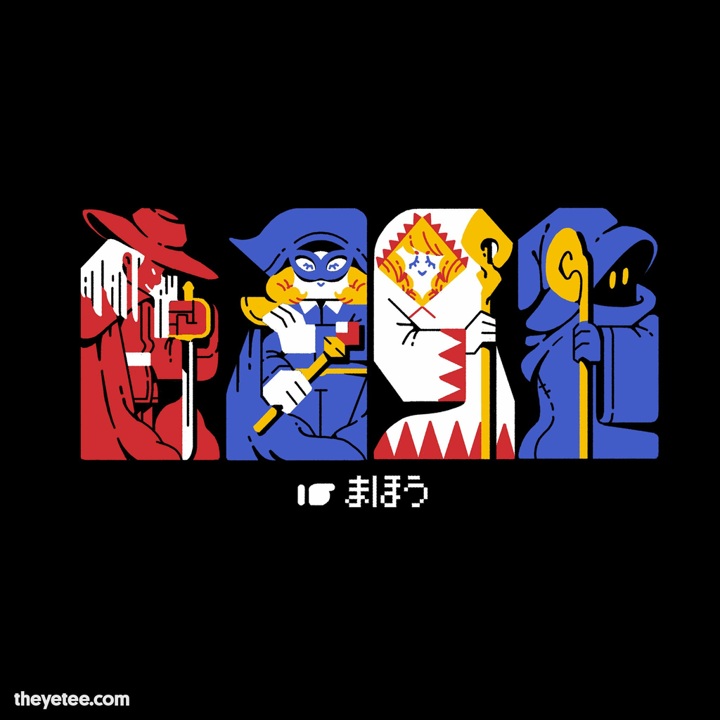 The Yetee: Oops All Mages