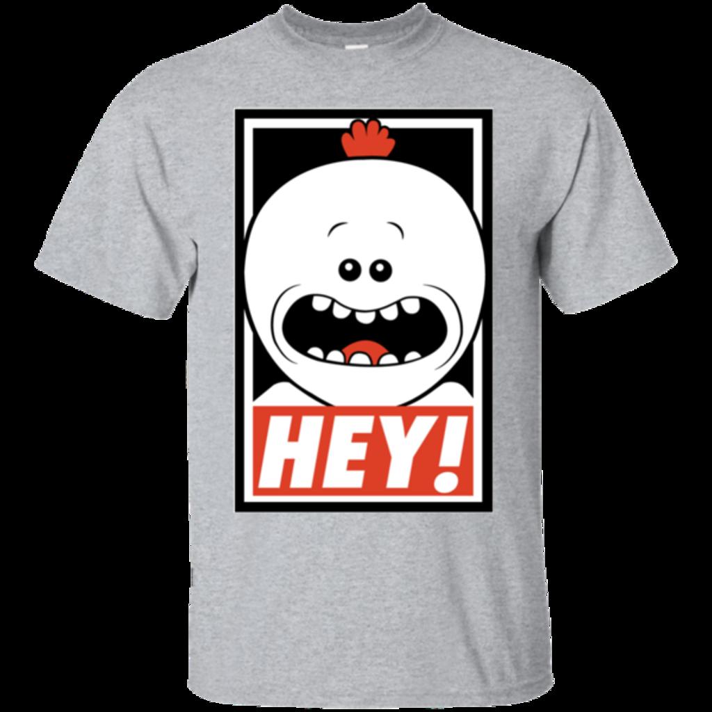 Pop-Up Tee: Hey!