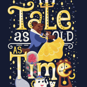 Qwertee: Tale as old as time