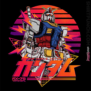 ShirtPunch: Gundam RX 78 Retro