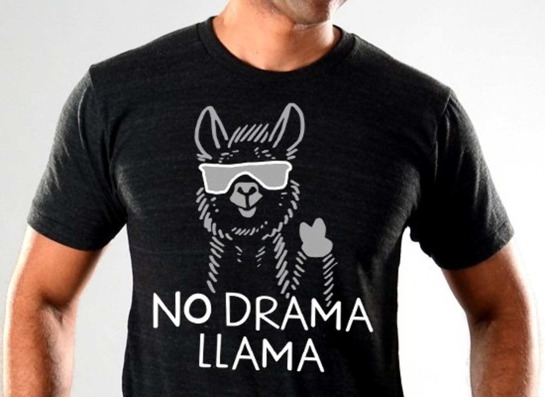 SnorgTees: No Drama Llama Limited Edition Tri-Blend