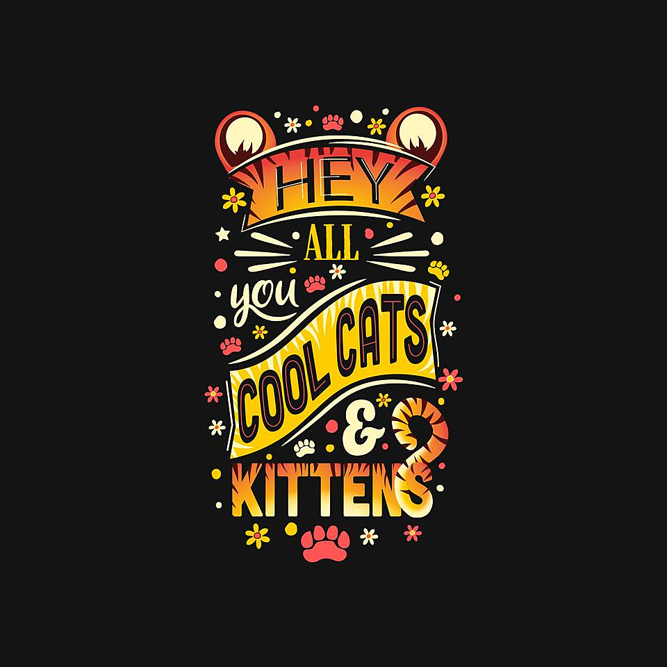 TeeFury: Cool Cats & Kittens