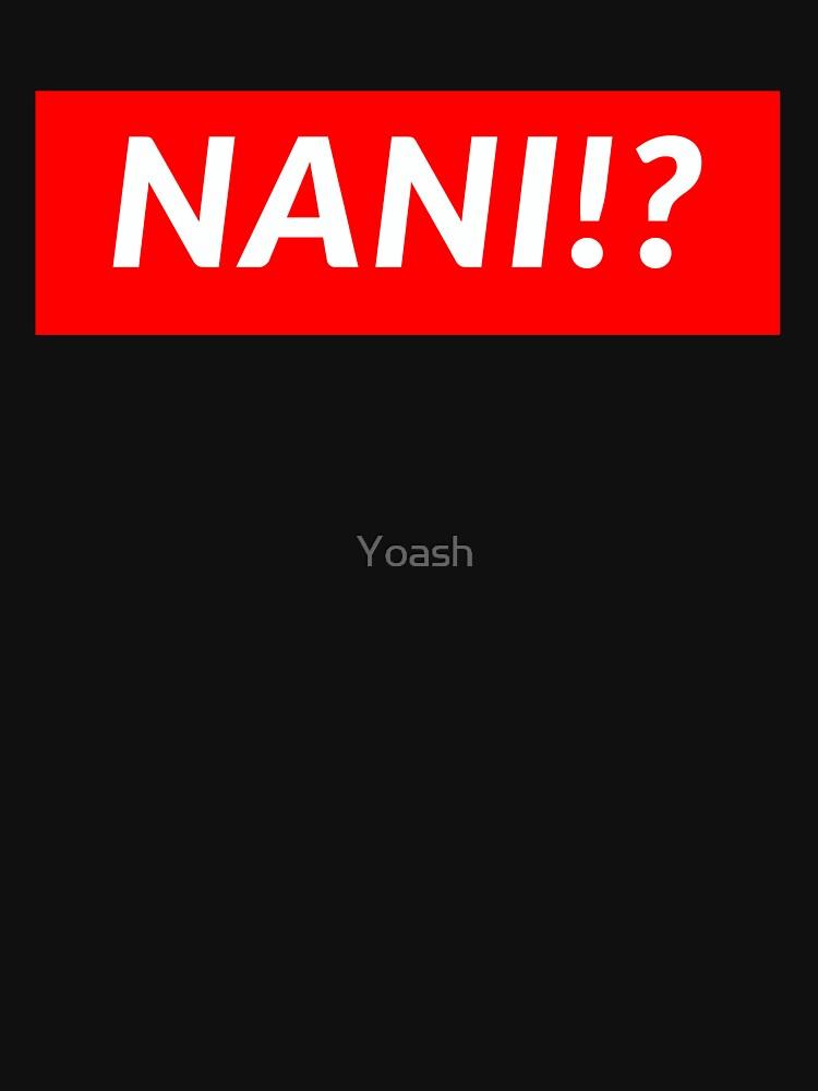 RedBubble: NANI!?