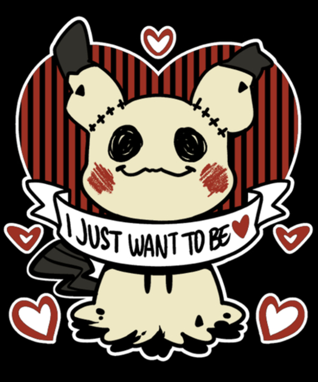 Qwertee: I Just Want to Be