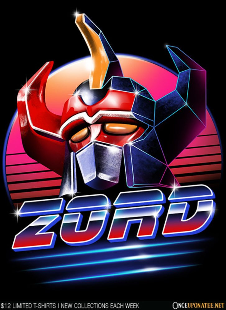 Once Upon a Tee: Zord
