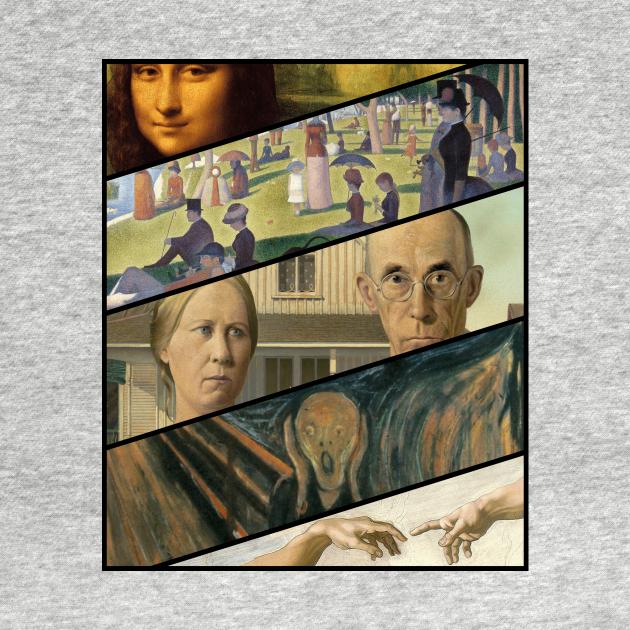 TeePublic: Classic Paintings Mockup