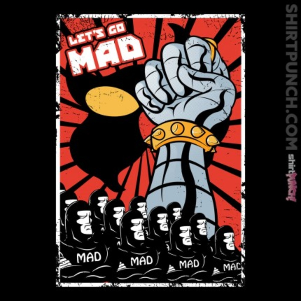 ShirtPunch: Let's Go Mad