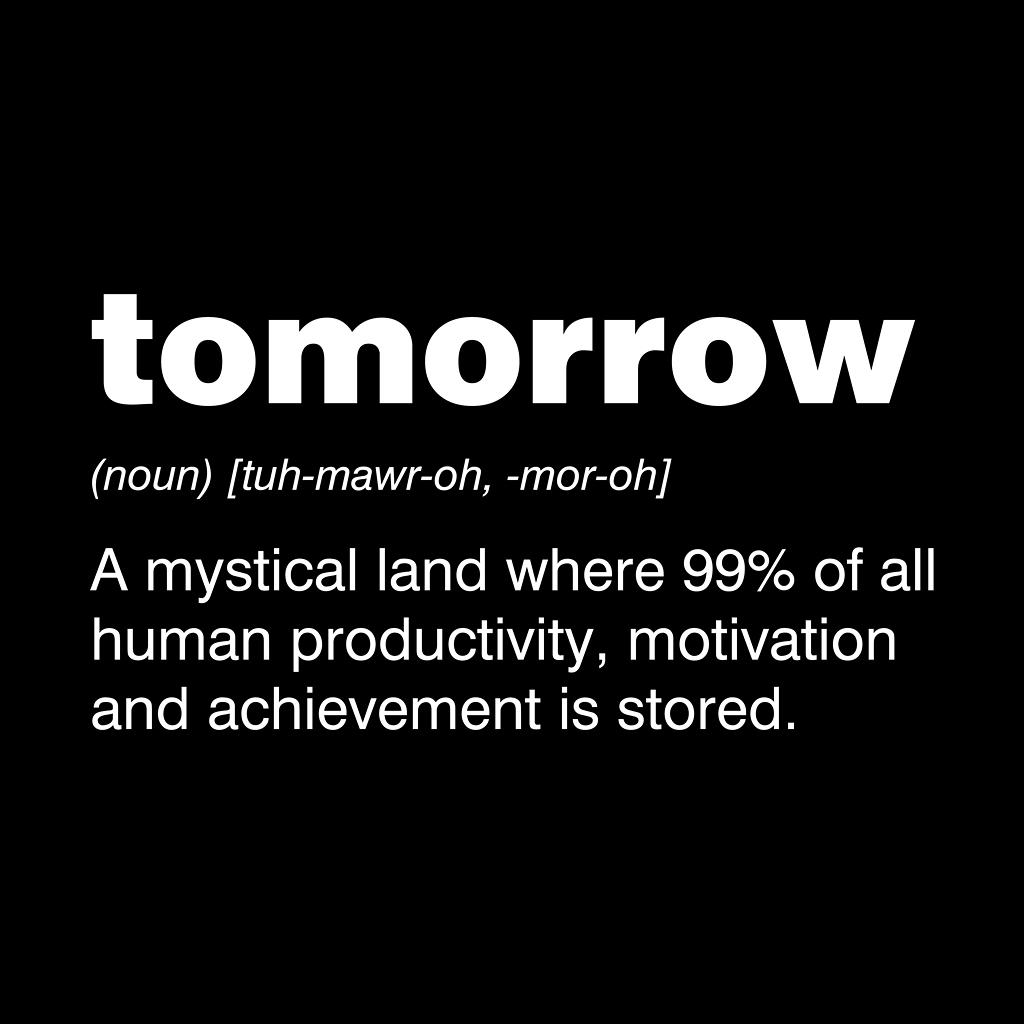 TeeTee: Tomorrow