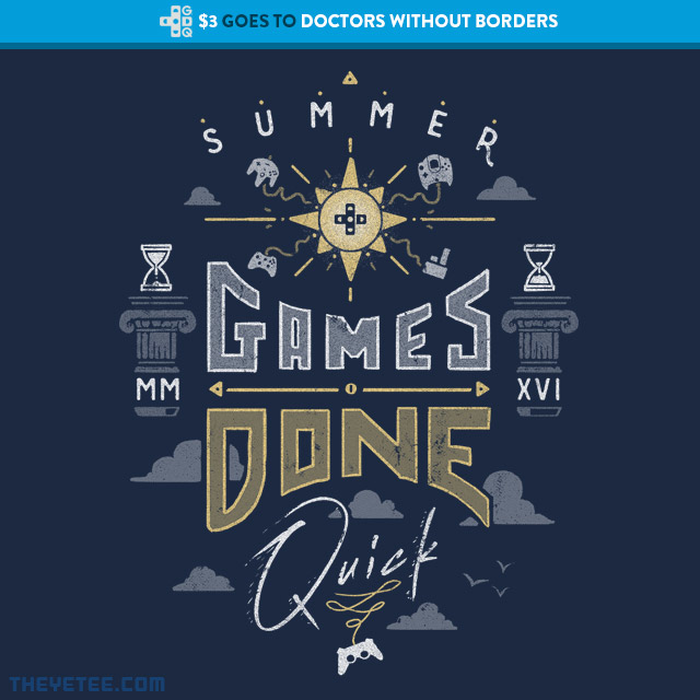 The Yetee: SGDQ 2016 Event Tee
