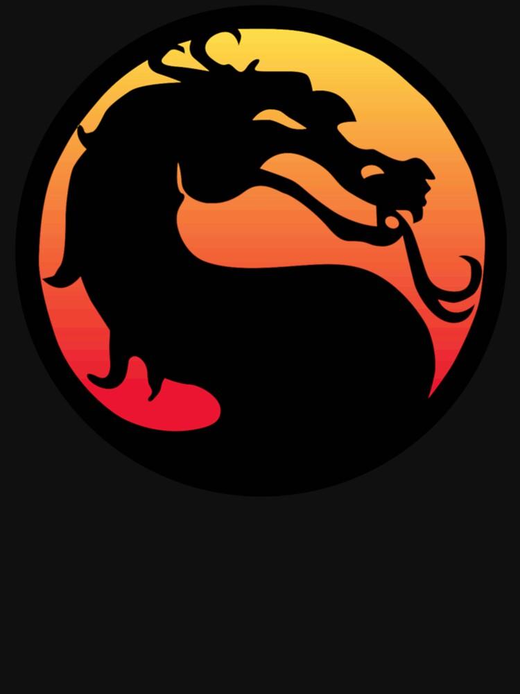 RedBubble: Classic Mortal Kombat Logo