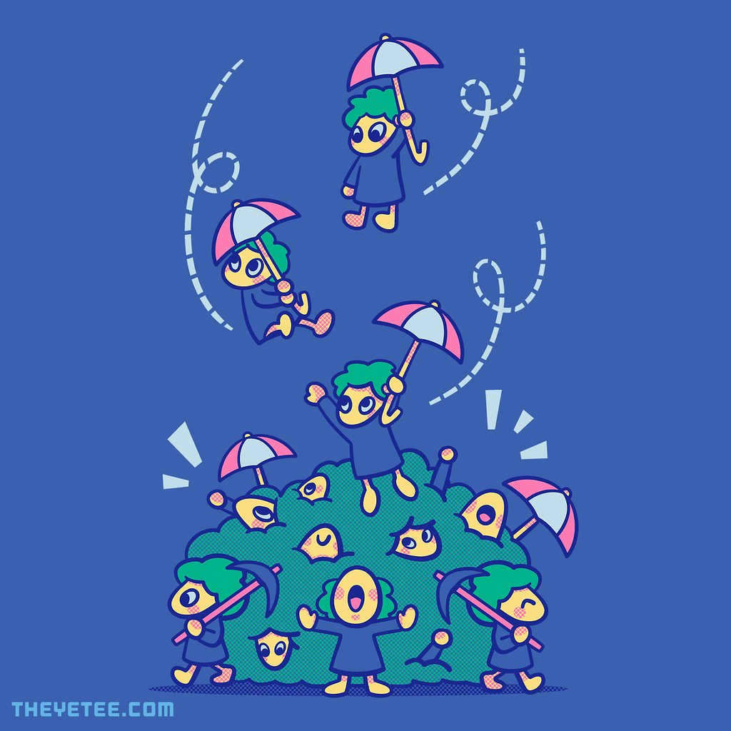 The Yetee: Don't Fall