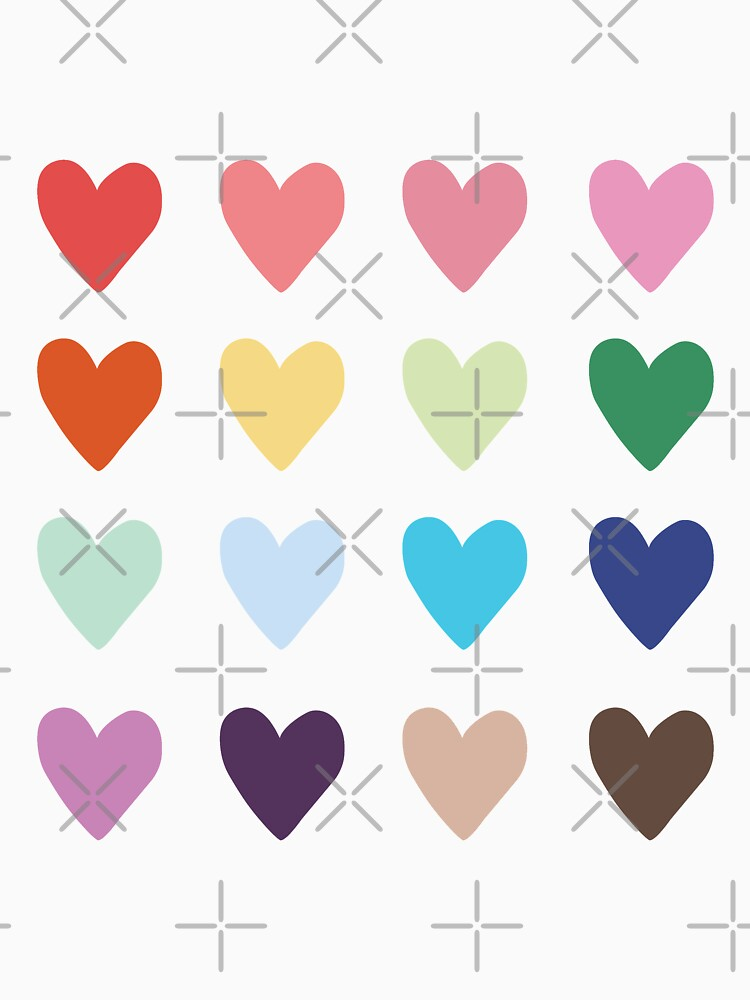 RedBubble: Watercolor Hearts