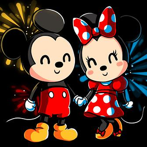 TeeTurtle: Mickey And Minnie Forever