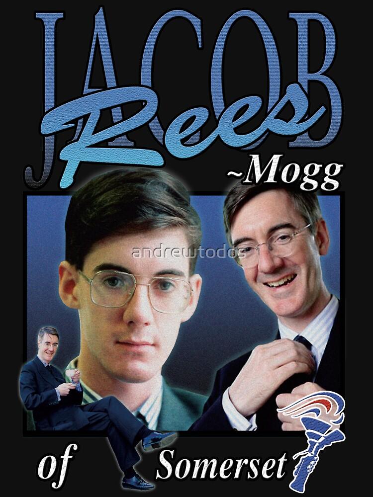 RedBubble: JACOB REES-MOGG VINTAGE T-SHIRT