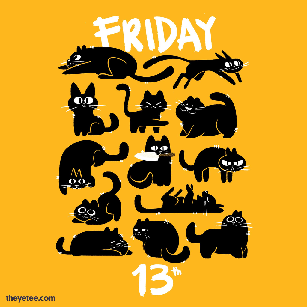 The Yetee: 13 Cats