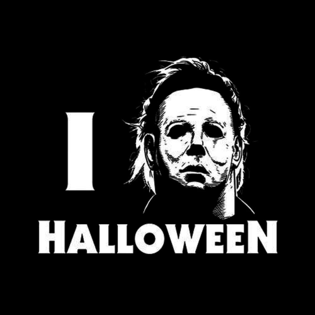 Five Finger Tees: I Love Halloween T-Shirt