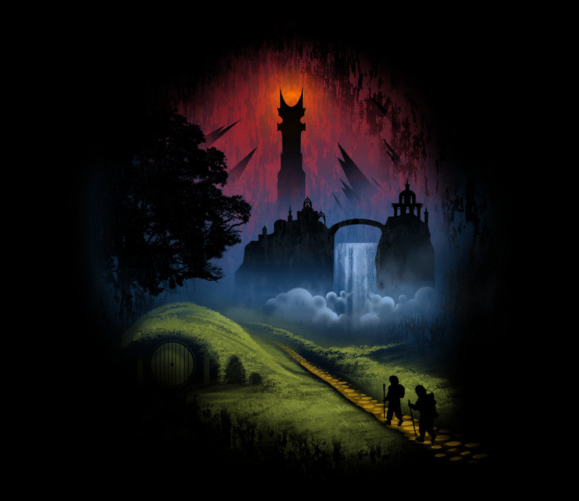 TeeFury: Over The Hill