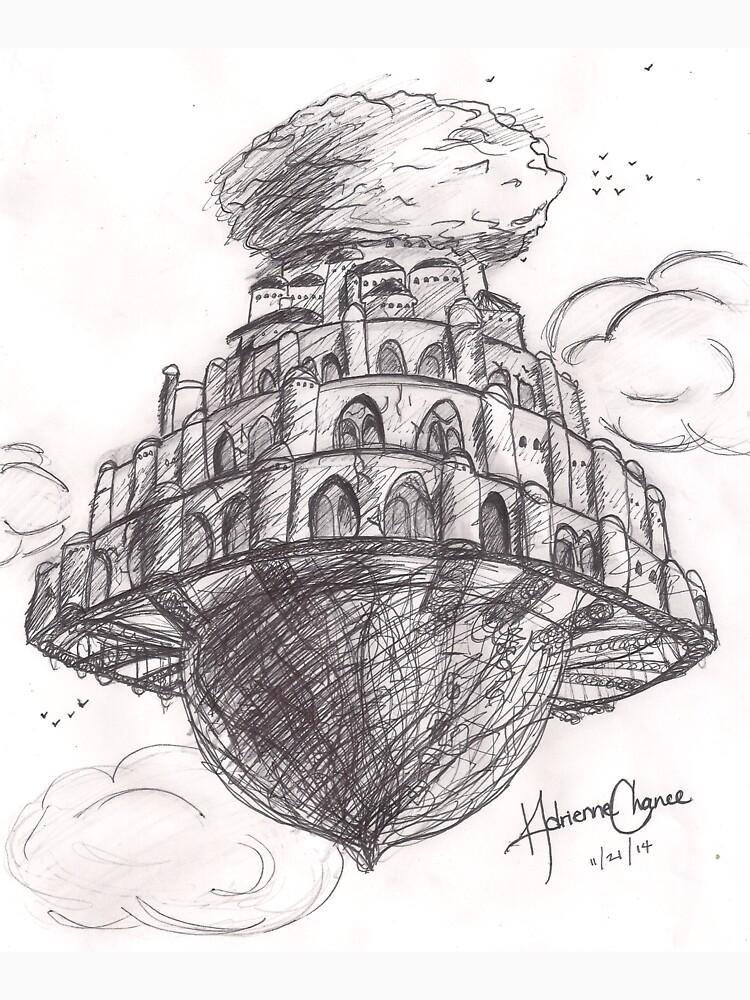 RedBubble: Laputa- Castle in the Sky