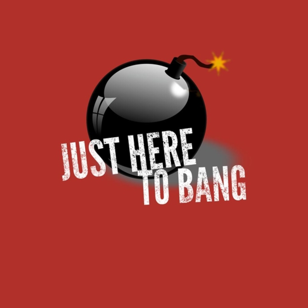BustedTees: Just Here to Bang, 4th of July