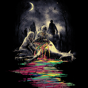 Qwertee: Midnight Snack
