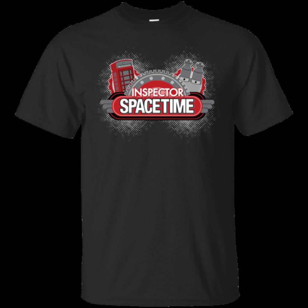 Pop-Up Tee: Inspector Spacetime