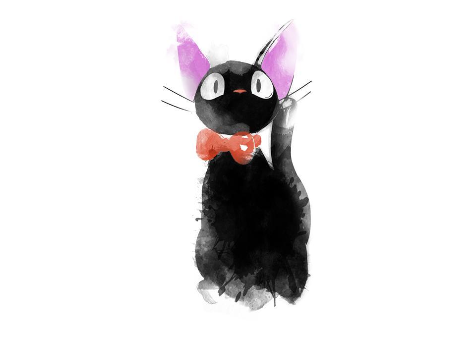 TeeFury: Watercolor Cat