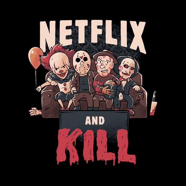 NeatoShop: Netflix and Kill - Classic Scary Terror Movie Gift