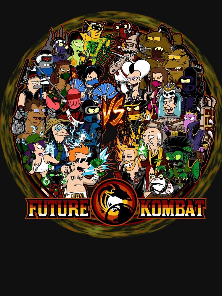 RedBubble: Future Kombat