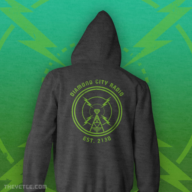 The Yetee: DIAMOND CITY RADIO ZIPUP