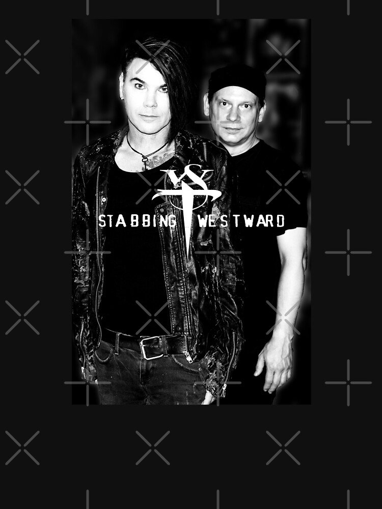 RedBubble: Chris and Walt in Black and White