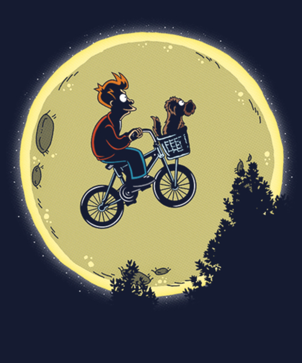 Qwertee: Bark Moon