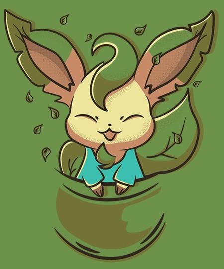 Qwertee: Leaf Pouch