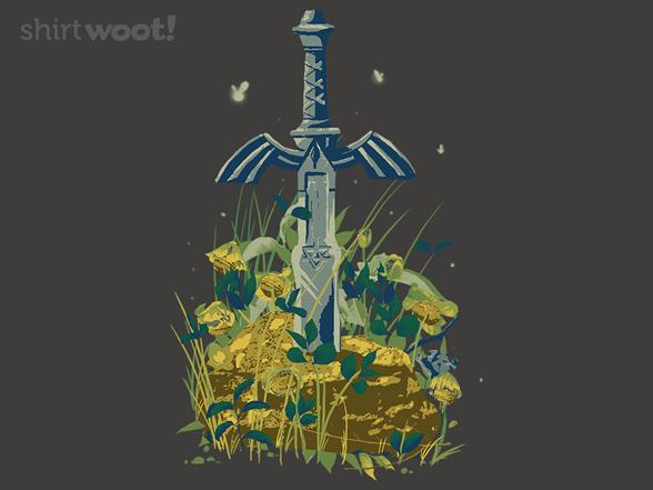 Woot!: Master Sword - $15.00 + Free shipping