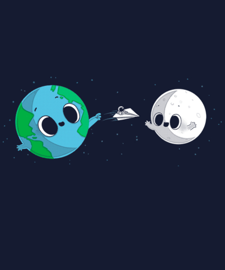 Qwertee: Fly me to the Moon