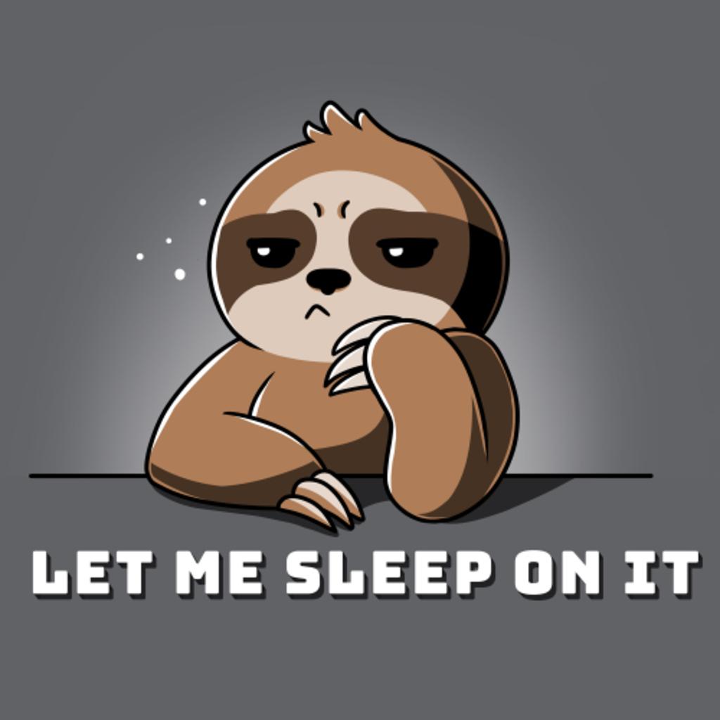 TeeTurtle: Let Me Sleep On It