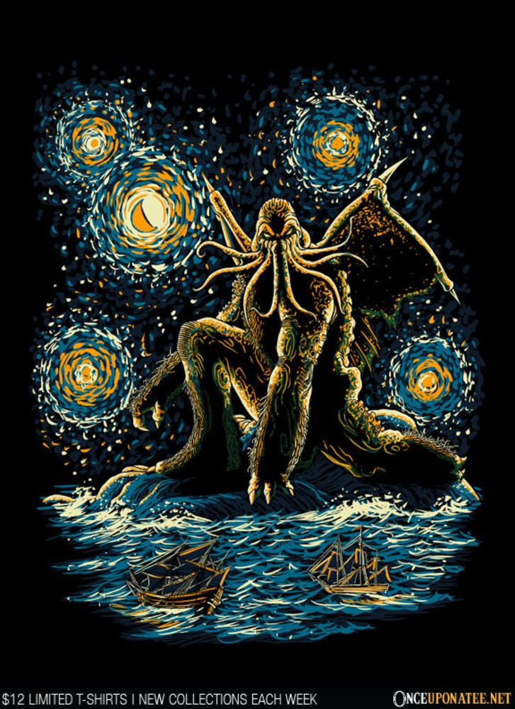 Once Upon a Tee: Night of Cthulhu