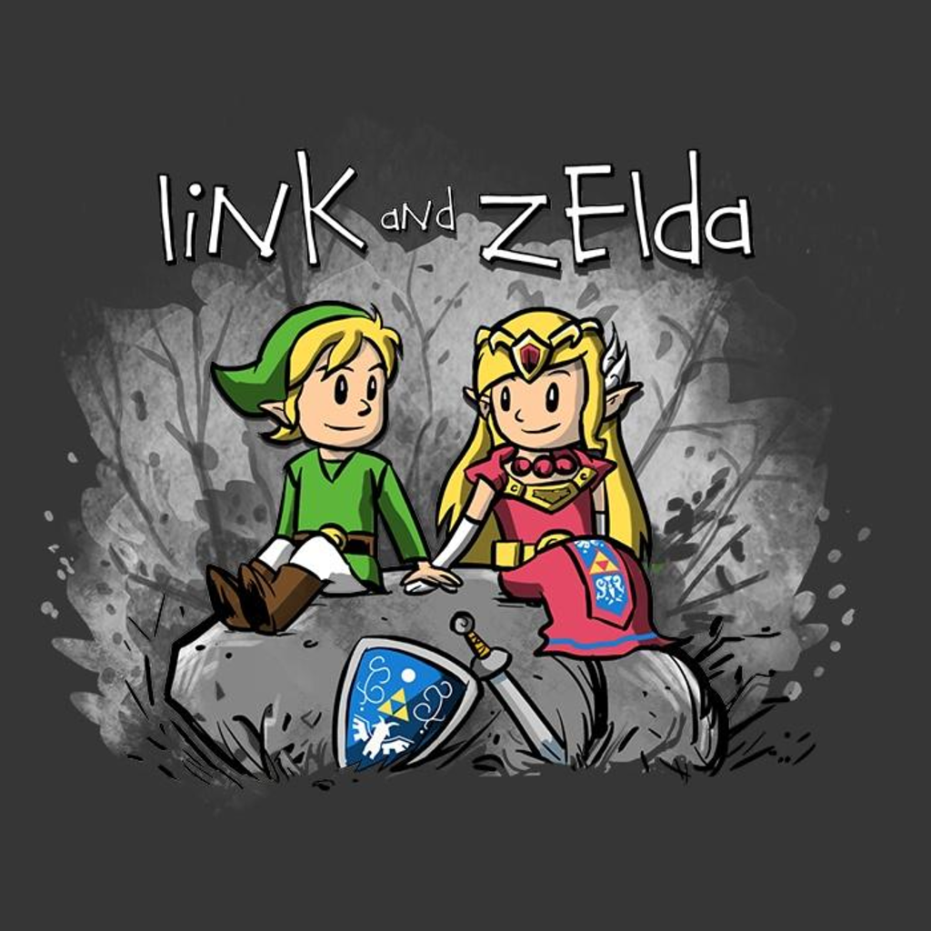 Once Upon a Tee: Link and Zelda