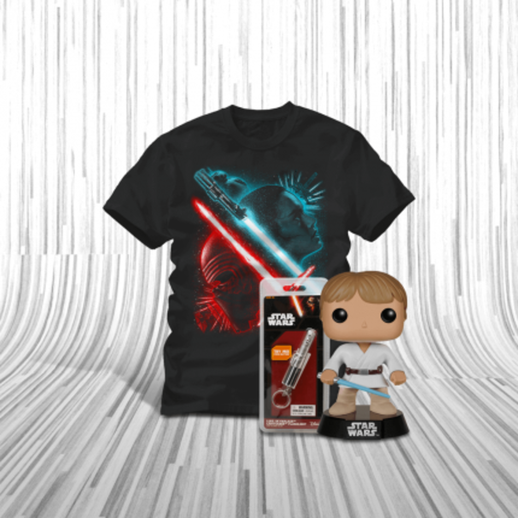 ShirtPunch: Luke Skywalker Bundle