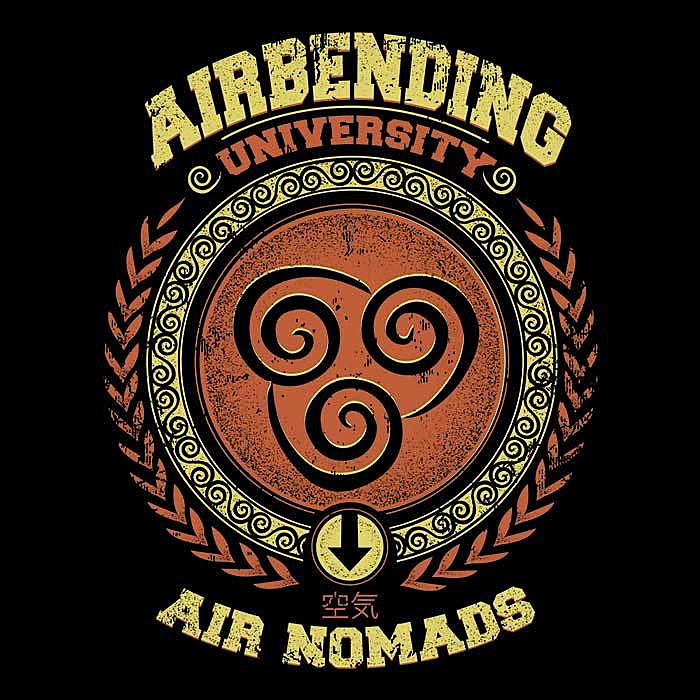 Once Upon a Tee: Airbending University