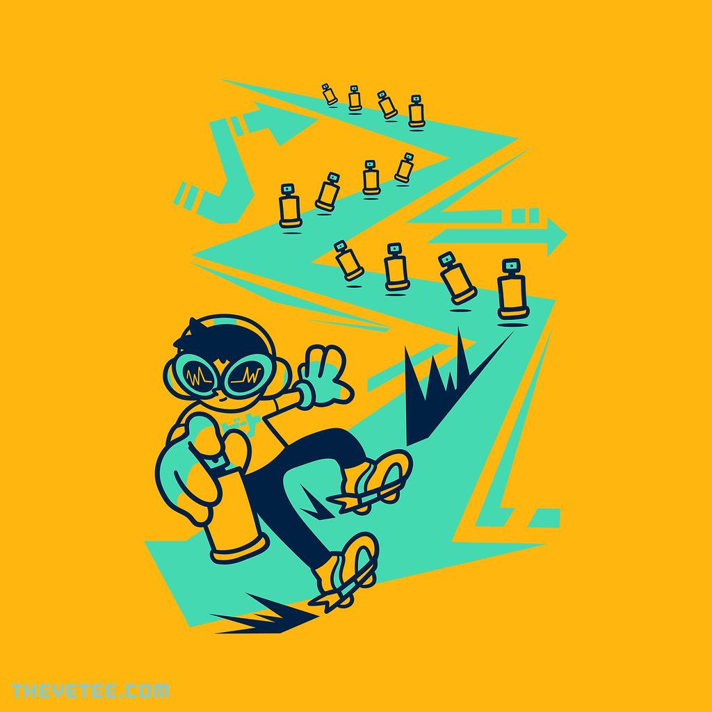 The Yetee: Rebel Skate