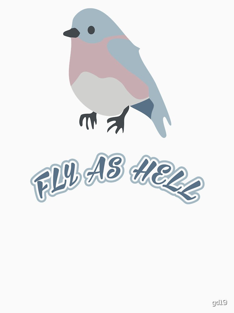 RedBubble: Bird Vector - Fly as Helll