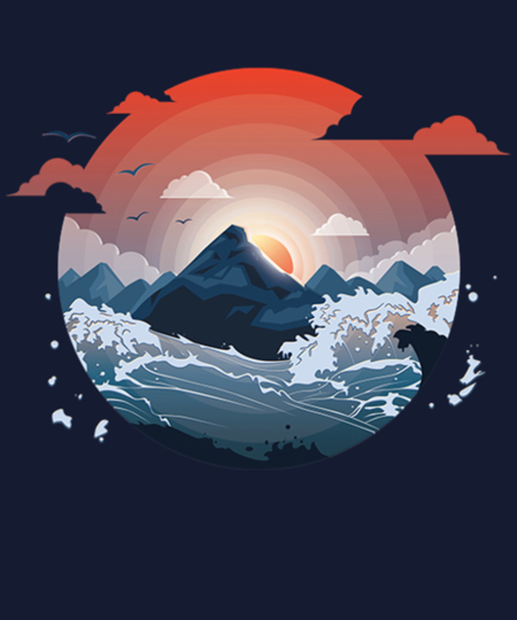 Qwertee: Surrounded by storm
