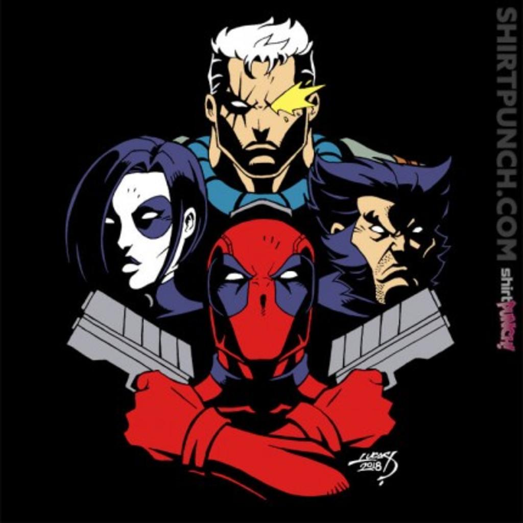 ShirtPunch: X-Force Rhapsody