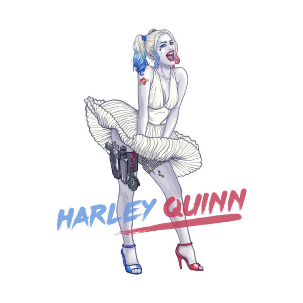 TeePublic: Harley Quinn